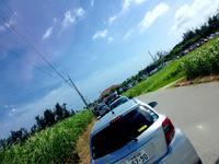 真栄田岬渋滞の季節です。