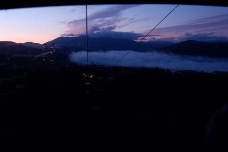 雲海見れました!