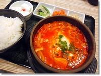 東京純豆腐 - ハーブ三元豚の肉厚スンドゥブ