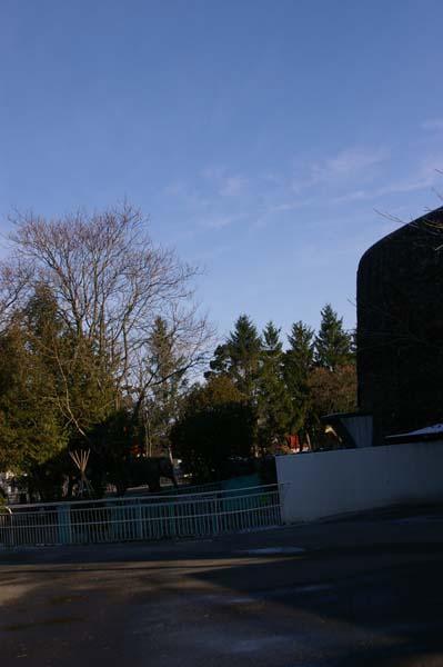円山のゾウ舎