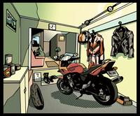 アメコミ バイク