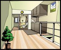 アメコミ 部屋