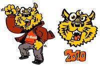 仕事・キャラクターデザインサンプル--虎(トラ)