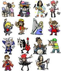 音楽-キャラクター制作