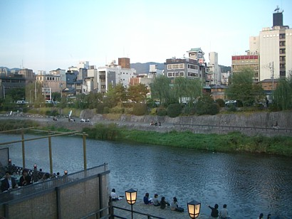 京都賀茂川納涼床