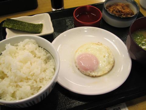 なか卯/200円朝食