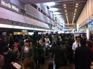 20110312羽田空港