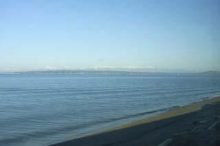 バンクーバー近辺海岸線