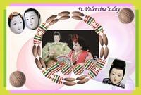 St.Valentine's dayのカード