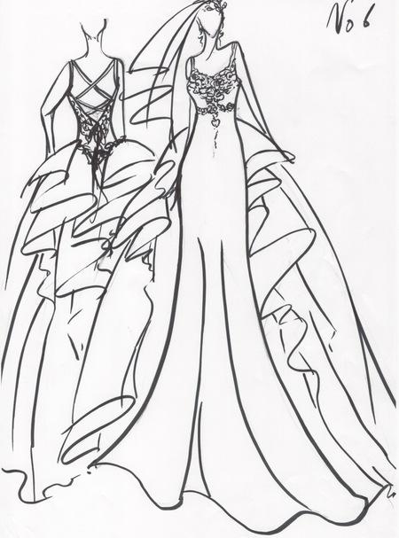 福岡県の花嫁様オーダーメイドウェディングドレス