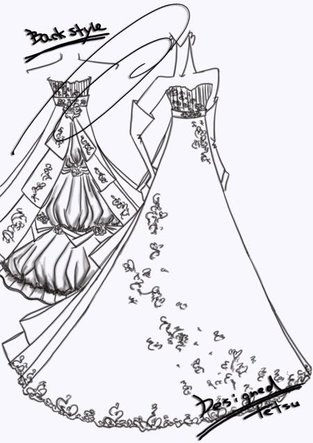 オーダーメイドウェディングドレス 東京都からのお客様
