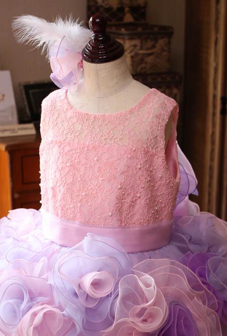 子供用オーダードレス 発表会 上半身デザイン