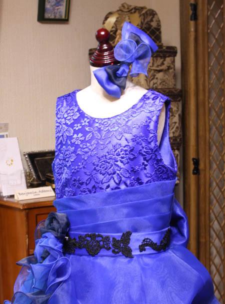 子供用ドレス デザインとヘッドドレス オーダー