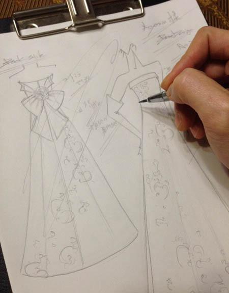 ウェディングドレス フルオーダー