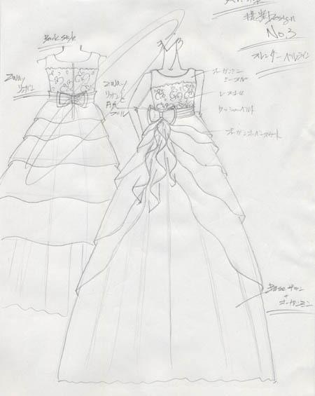 中学生 ピアノの発表会ドレス デザイン
