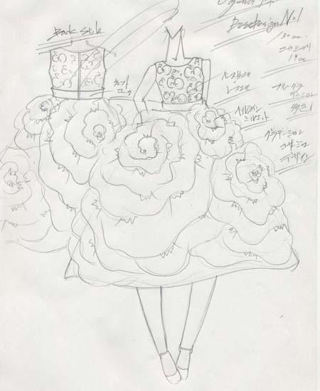 ピアノの発表会ドレス コンクールドレス デザイン