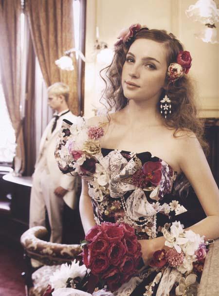和装カクテルドレス 結婚式のお色直しドレス