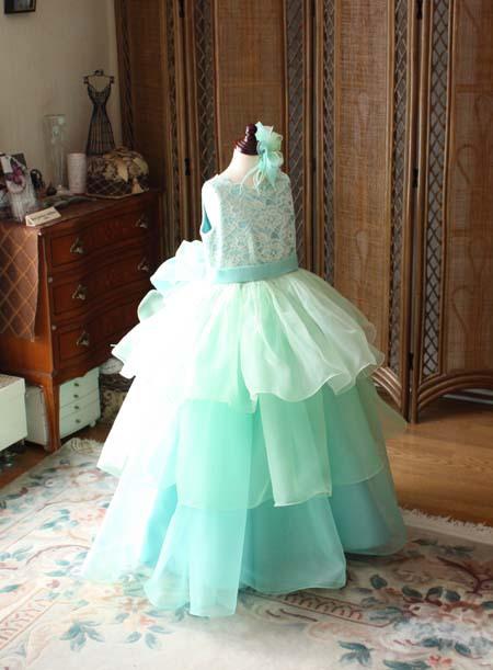 ティアードスカート 2wayドレス