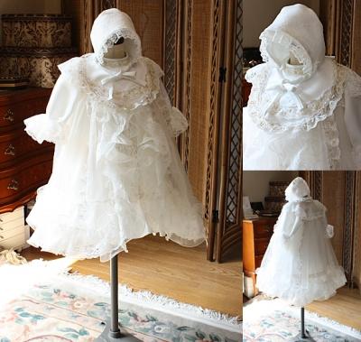 ウェディングドレスをベビードレスにリフォーム