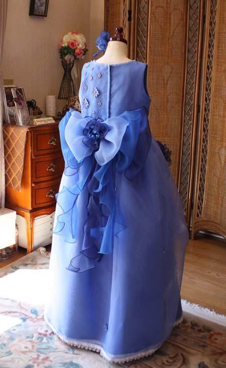 大きめのリボン アレンジメント 子供ドレス