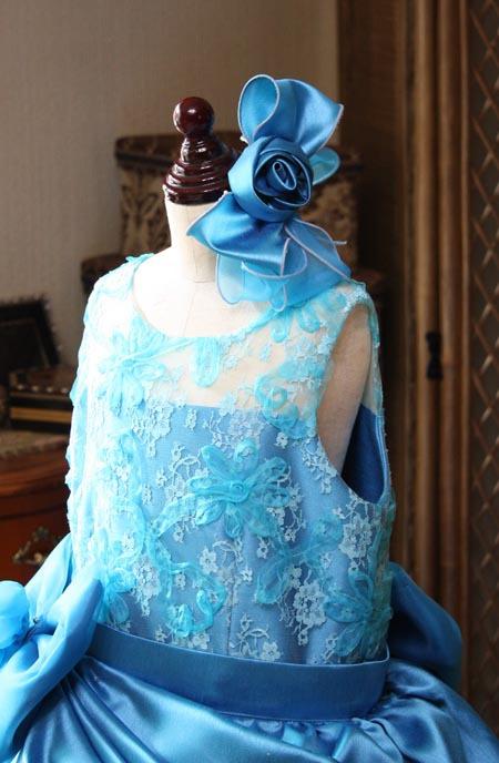 子供用 演奏者用のヘッドドレス コサージュ