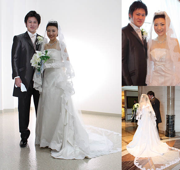 札幌の花嫁ウェディングドレス オーダー