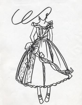 ドレス製作 デザイン企画