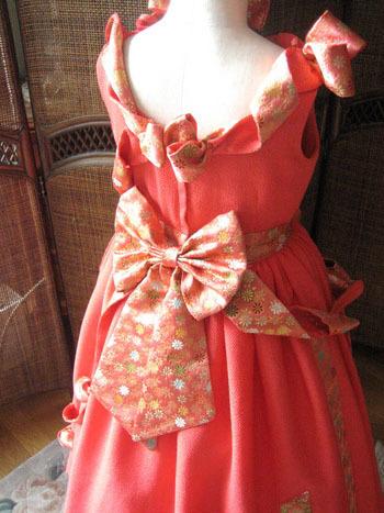 大きさのバランスとデザイン構成 ドレスデザイン