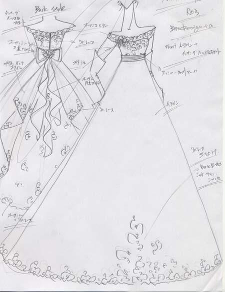 ウェディングドレス オーダーメイド 花嫁のドレス 沖縄リゾートウェディング