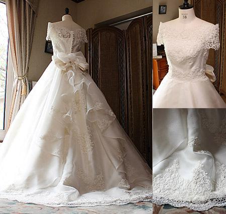注目のウェディングドレスのバックスタイル 憧れるシルエットとデザイン