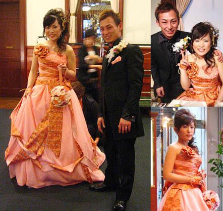 着物 ウェディングドレス お色直しカクテルドレス オーダーメイド