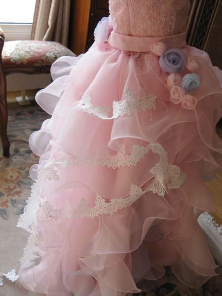 子供ドレス製作 デザイン