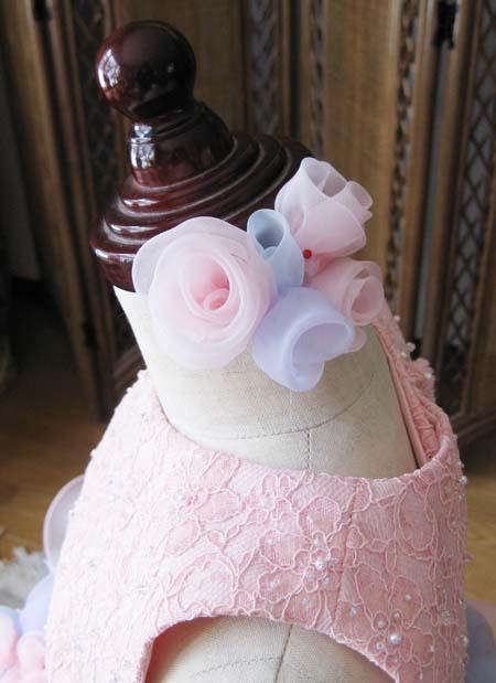 子供ドレス ヘッドドレス製作