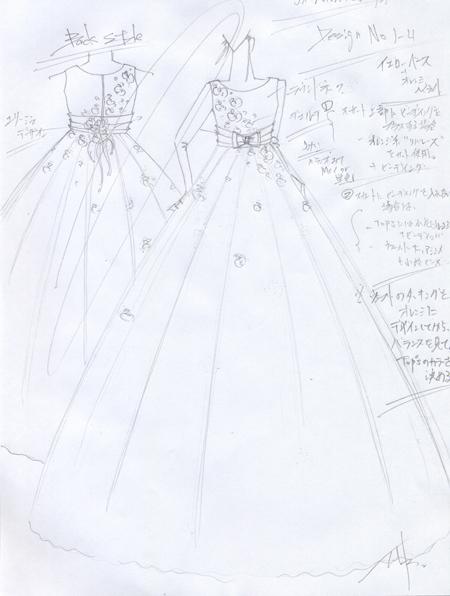 愛知県のお子様にデザイン ピアノのコンツェルト用ドレス