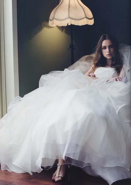 JOCELYN BLANCHETのウェディングドレス