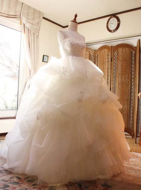 ウェディングドレスのお困り サイズ修正とお直し