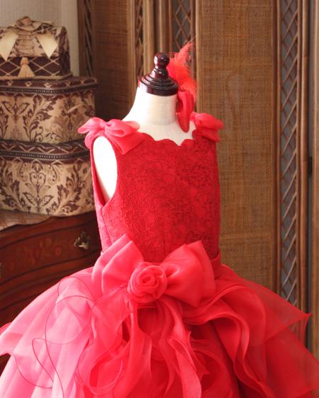 上半身デザイン ピアノのコンクール用ドレス