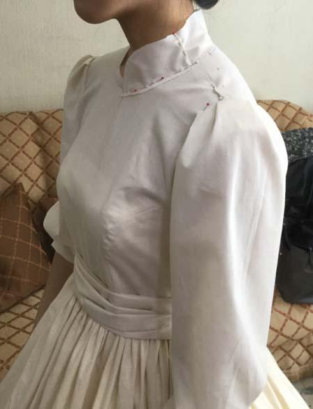 ヴィンテージドレス レンタル価格で作れるウェディングドレス