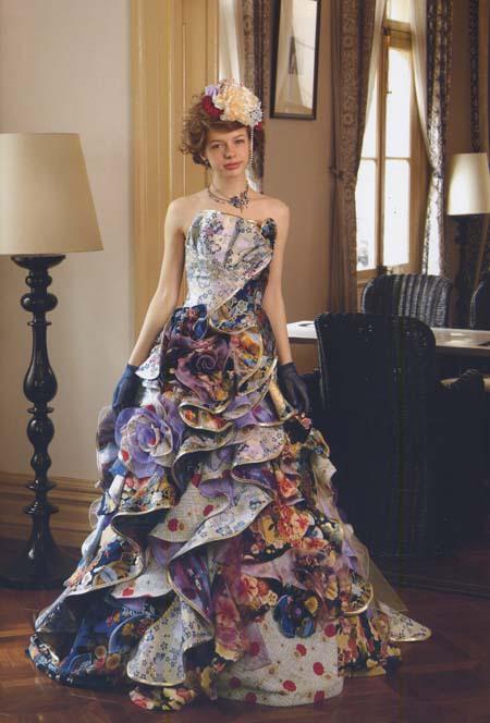着物 ウェディングドレス カラードレス