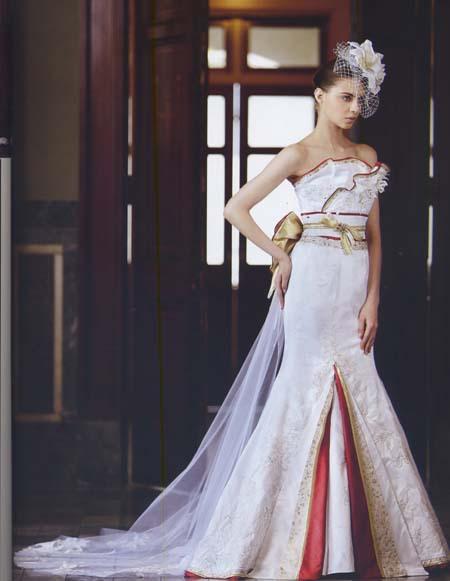 着物ウェディングドレス カラードレス 白無垢