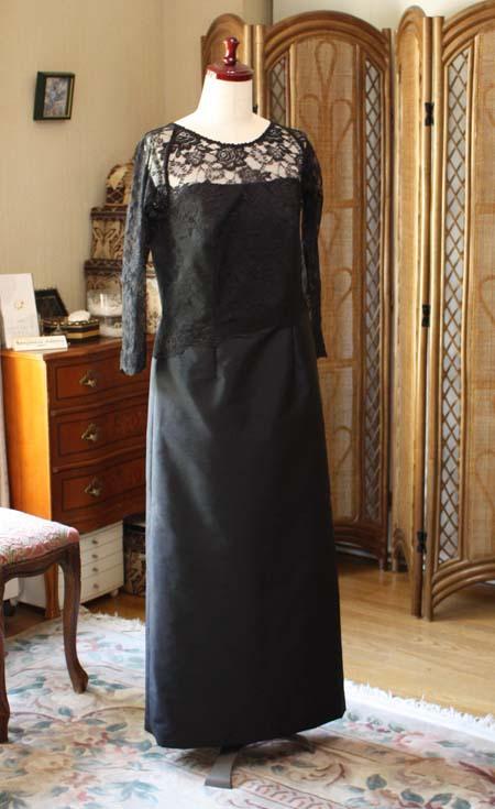 フォーマル婦人服 ロングドレス