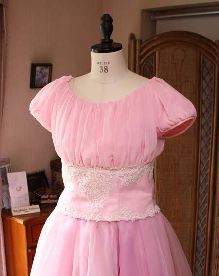 シフォンの演奏会ドレス