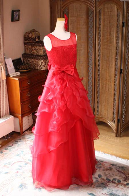 ピアノ用 中学生ドレス