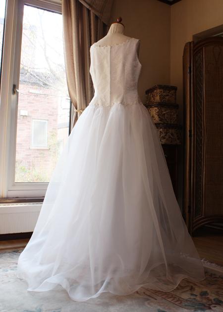 ウェディングドレス リメイク スカートデザイン