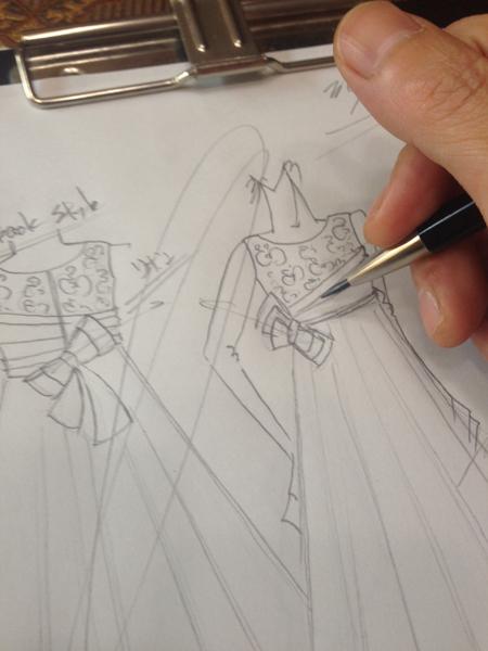子供用発表会ドレス デザイン オーダー