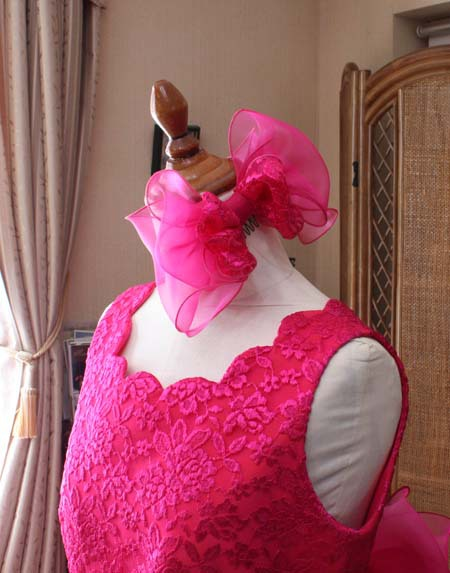 ヘッドドレス ピンク オーダー