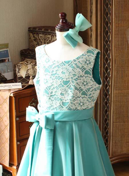 子供ドレス リボンのヘッドドレス 販売