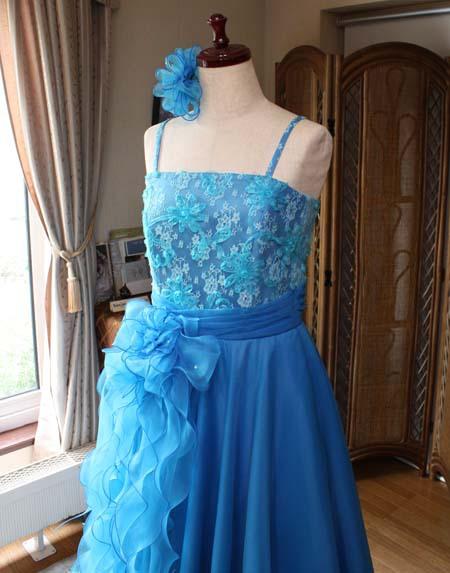 上半身シルエット オーダーメイドドレス