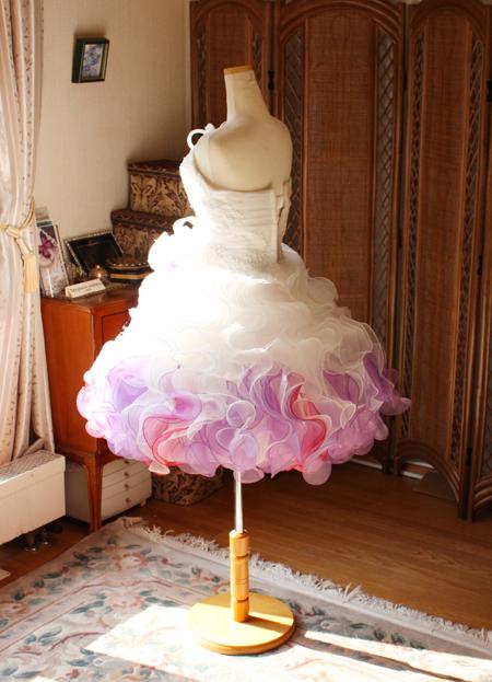 お色直し 結婚式 ウェディングドレス