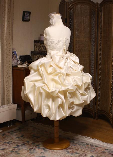 ウェディングドレス アンティークドレス